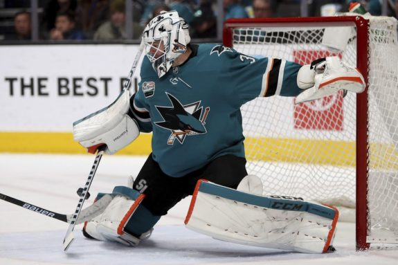 San Jose Sharks Martin Jones