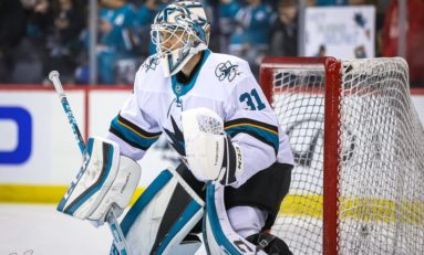 Sharks Handicapped by Martin Jones' Contract