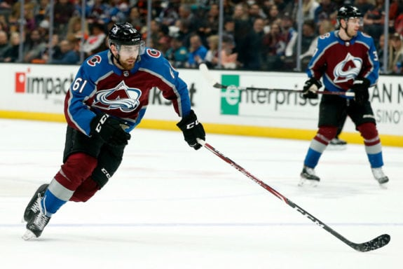 Martin Kaut Colorado Avalanche