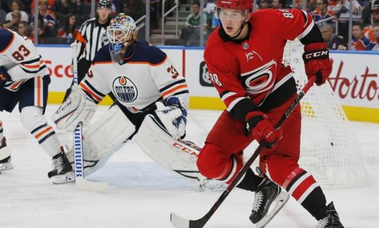 Hurricanes' Necas Is Ready to Stay in the NHL