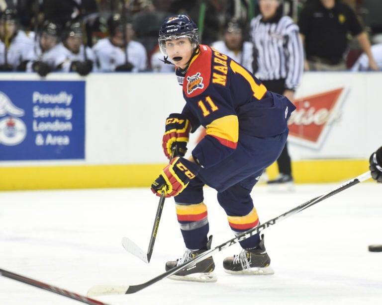 Mason Marchment Erie Otters