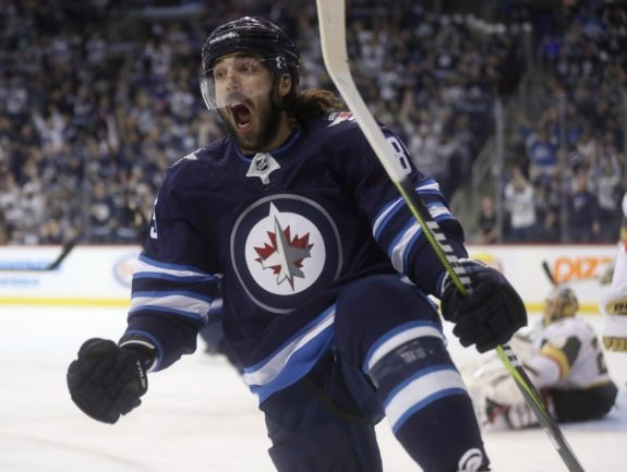 Winnipeg Jets' Mathieu Perreault