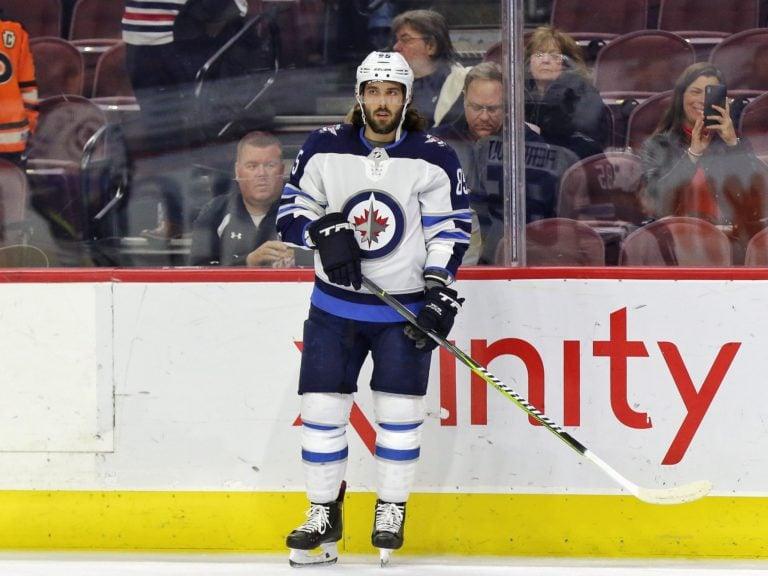 Mathieu Perreault Winnipeg Jets