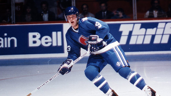 Mats Sundin while on the Nordiques