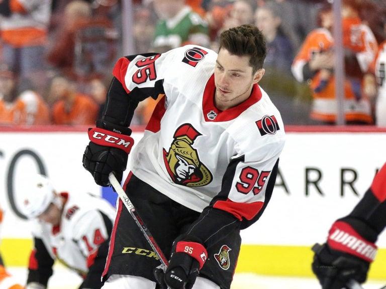Matt Duchene #95, Ottawa Senators