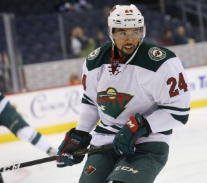 Matt Dumba of the Minnesota Wild.