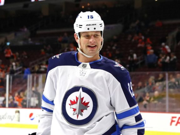 Matt Hendricks - Winnipeg Jets