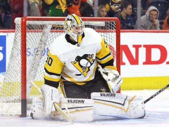 Matt Murray of the Pittsburgh Penguins