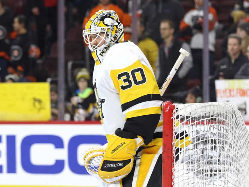 Matt Murray Penguins