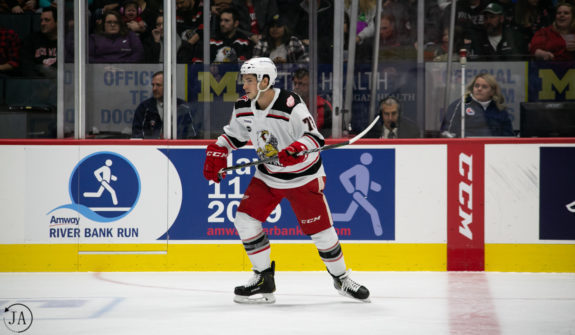 Matt Puempel Grand Rapids Griffins
