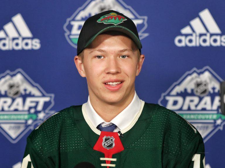 Matthew Boldy Wild Draft