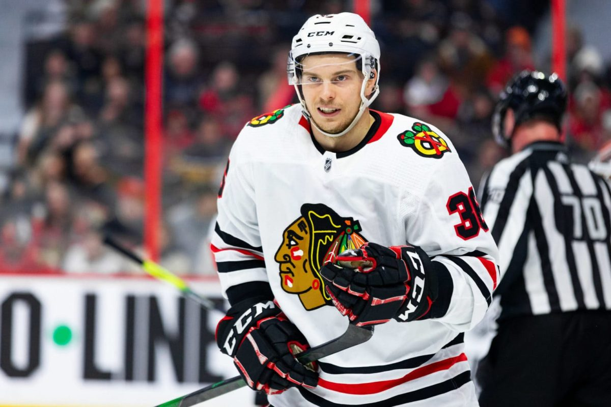 Matthew Highmore Chicago Blackhawks