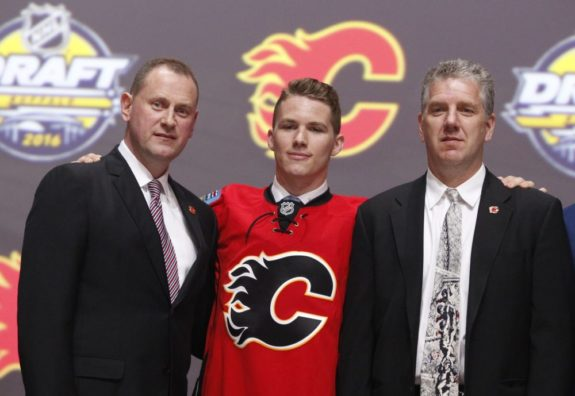 Matthew Tkachuk, 2016 NHL Draft, NHL, Calgary Flames