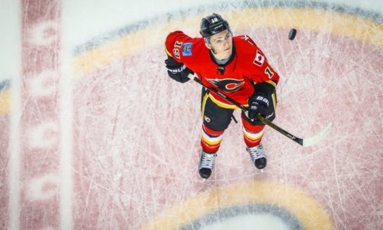 Flames Rout Golden Knights - Tkachuk, Gaudreau With 4 Each