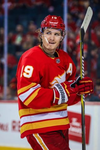 Flames left wing Matthew Tkachuk