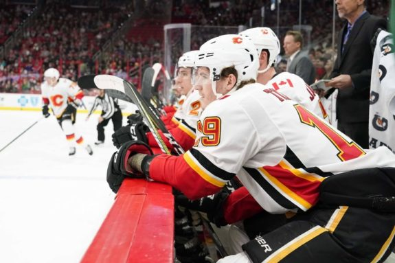 Flames forward Matthew Tkachuk - Dirtiest NHL Players