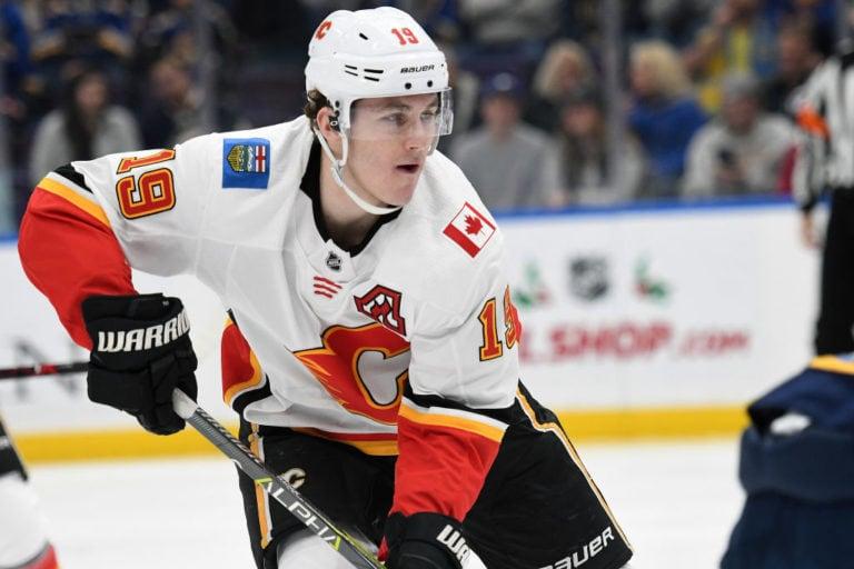 Calgary Flames leftwing Matthew Tkachuk