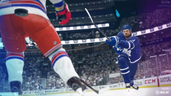 Toronto Maple Leafs Auston Matthews EA Sports NHL 20