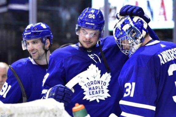 Matthews Tavares Andersen Maple Leafs