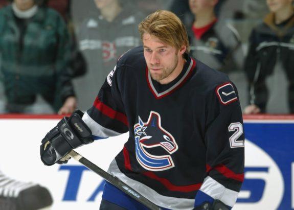 Mattias Ohlund Vancouver Canucks