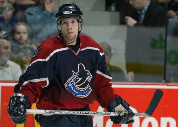 Brendan Morrison Vancouver Canucks