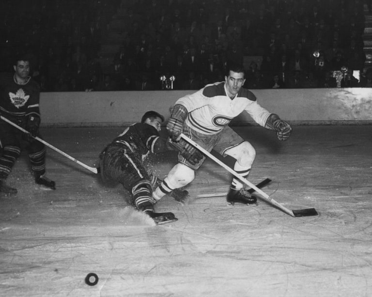Maurice Richard of the Montreal Canadiens