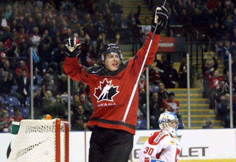 Maxime Comtois Team Canada