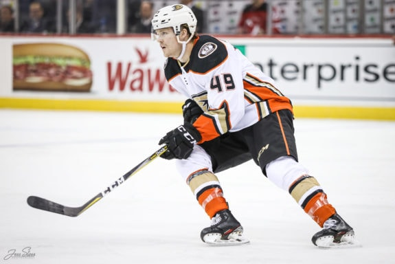 Max Jones Anaheim Ducks