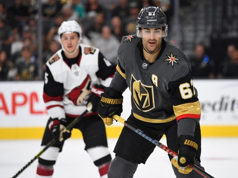 Golden Knights left wing Max Pacioretty