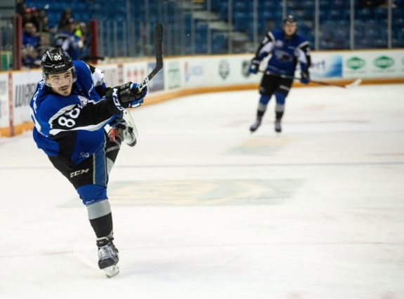 Saint John Sea Dogs forward Maxim Cajkovic