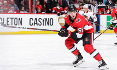 Senators' Lajoie Playing Into Early Calder Conversation