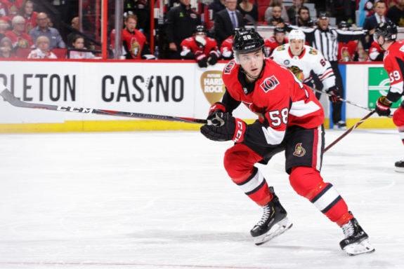 Maxime Lajoie Ottawa Senators