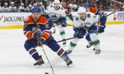 Oilers Down Canucks for 4th Straight Win