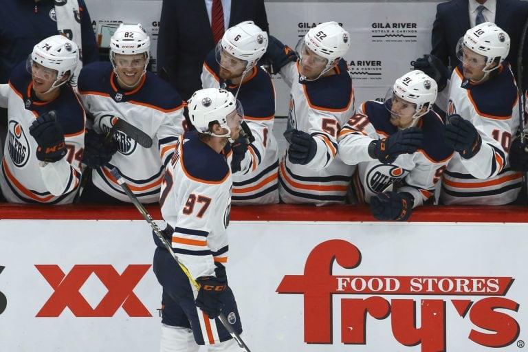 Edmonton Oilers Connor McDavid