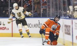 Oilers Overcome Golden Knights on Spooner's Late Goal