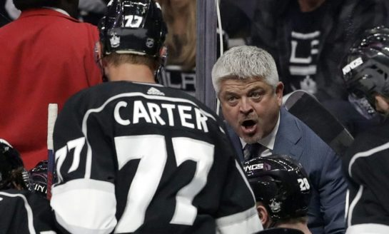 Kings' McLellan Enthusiastic About Intensity Ahead of Lightning Game