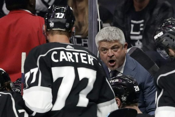 Todd McLellan, Jeff Carter