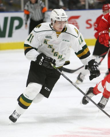 Connor McMichael London Knights
