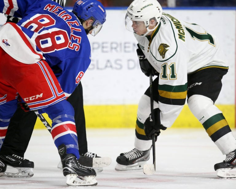 Connor McMichael, London Knights