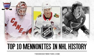 Top 10 Mennonites in NHL History
