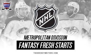 Fantasy Fresh Starts: Metropolitan Division