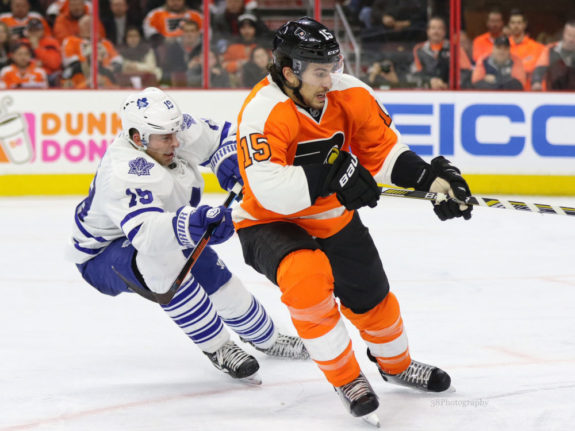 Del Zotto's return could be a welcome sight for the Flyers. (Amy Irvin / The Hockey Writers)