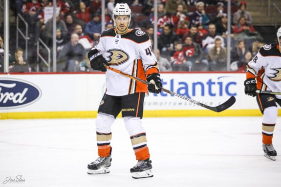 Michael Del Zotto Anaheim Ducks