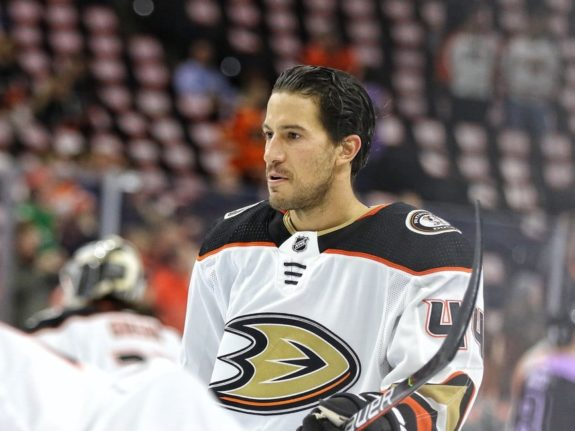 Michael Delzotto Anaheim Ducks
