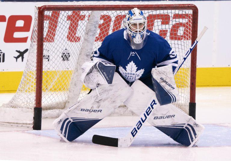 Michael Hutchinson Toronto Maple Leafs