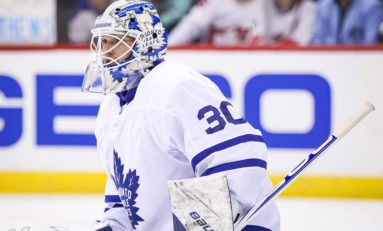 Maple Leafs' Backup Goalie 'Situation' Simply Doesn't Matter Much