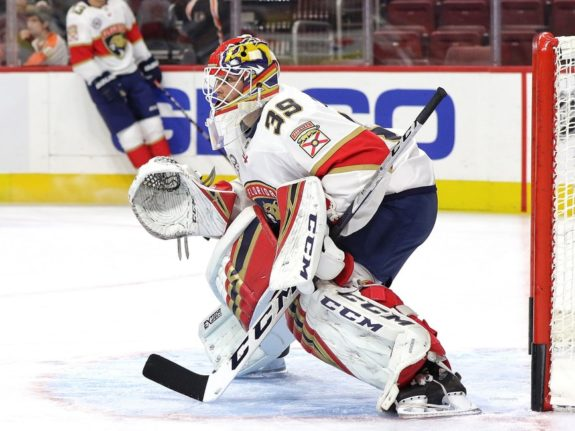 Michael Hutchinson Florida Panthers