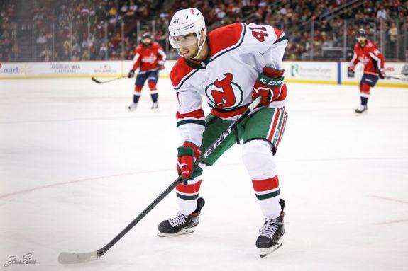 Michael McLeod New Jersey Devils