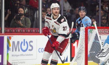 Red Wings' Rasmussen Ready for a Breakout Season