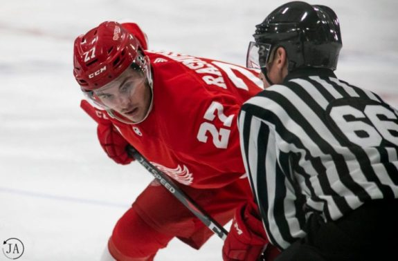 Michael Rasmussen Detroit Red Wings